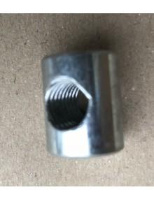Barillet de réglage de phares dans le porte phares de la 2cv