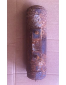 Batteur arrière occasion 2cv longueur 27.5 cm diamètre 7.46 cm entraxe entre les fixations : 7.75 cm