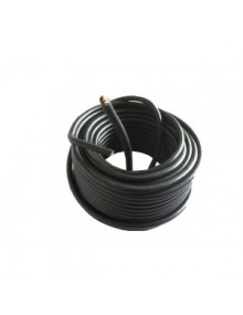 Câble de batterie nu noir - longueur 50 cm*