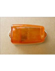 Cabochon de clignotant de custode orange 2CV origine avec joint