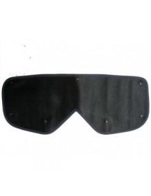 Cache-calandre pour calandre 2cv  doubles chevrons 65-75 couleur noire