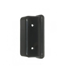 Cache en plastique noir de gâche de serrure 2cv