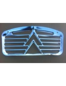 Calandre en aluminium, doubles-chevrons, origine  2cv de 1961 à 1965
