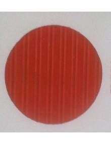 Capote 2CV neuve, orange gros grain fixation intérieure renforcée