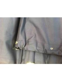 Capote neuve longue toile coton avec glace ovale pour 2cv avant 1957 sur commande* (donc aucune possibilité de retour )