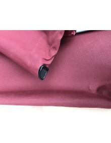 Capote 2cv fermeture intérieure toile coton rouge bordeaux Livraison offerte en France continentale