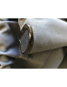 Capote 2cv neuve fermeture intérieure toile coton épaisse grise
