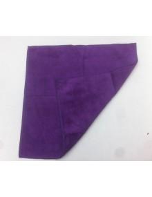 Chiffon microfibres Pro idéal pour faire briller la carrosserie après application des produits photo non contractuelle vert clair ou violet selon livraison