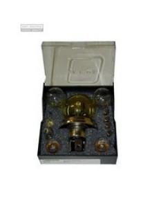 Coffret d'ampoules 12 volts code européen avec ampoule de Phare CE jaune