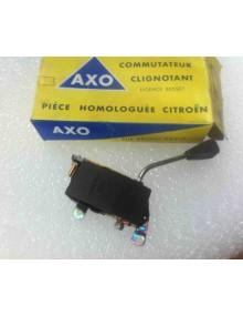 Commodo de clignotant gris Ami6 12 Volts AXO 572 attention un peu d'oxydation sur le levier