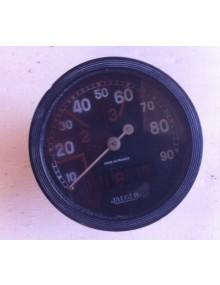 Compteur rond 2cv occasion Jaeger gradué de 10 à 90 km/h sans éclairage