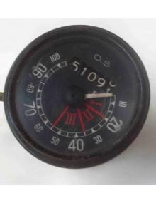 Compteur de vitesse OS gradué de 10 à 100 km/h ancien modèle occasion