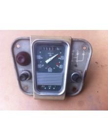 Compteur occasion 2cv Veglia gradué de 20 à 100 km/h avec sa platine attention jauge à essence ne fonctionne  pas