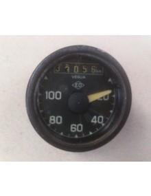Compteur rond ED ancien modèle occasion gradué de 20 à 100 km/h