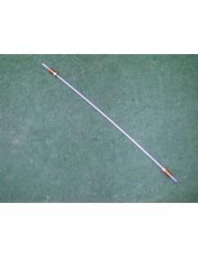 Conduite de frein entre le flexible et le répartiteur avant 4.5 mm Méhari Dyane et 2cv longueur 35 cm