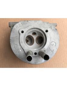 Culasse gauche nue moteur 2cv 425 cm3 4 goujons Attention tubes enveloppes abîmés