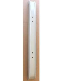 Pare-chocs arrière large 2cv 11 cms peint en gris copie de l'origine*