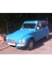 Dyane 6 bleu pétrel 1974