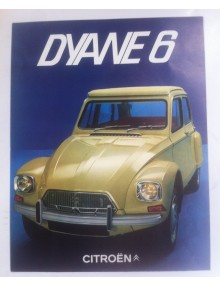 Brochure de présentation de la Dyane 1969