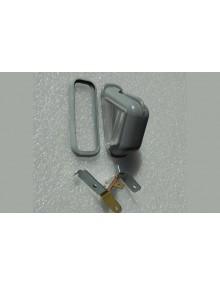 Eclaireur de plaque triangulaire avec support 2CV fourgonnette HY + joint