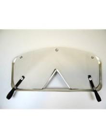 Ecran de calandre 2cv blanc pour calandre aluminium montées entre 1960 et 1975