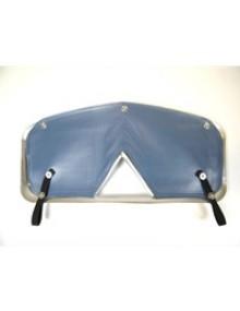 Ecran de calandre 2cv bleu céleste pour calandre aluminium montées entre 1960 et 1975