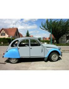 2CV 6 1987 grise et bleue