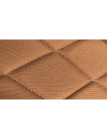Ensemble de garnitures de sièges 2cv tissus losanges jaune ocre  dossiers symétriques