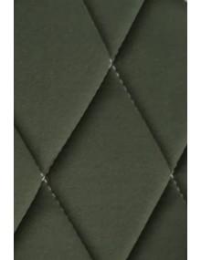 Ensemble de garnitures de sièges 2cv tissus losanges vert anglais dossiers symétriques