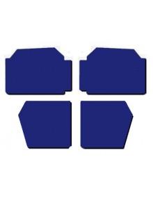 Ensemble de panneau de porte 2cv 2cv spécial bleu marine 2cv France 3