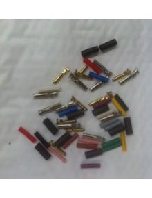 Ensembles cosses en cuivre 4 mm pour 2cv et DS