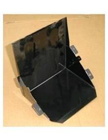 Bac de support de batterie  (petit pour 6 volts) base longueur 19.5 cm attention hauteur seulement 15 cms en aprêt noir à peindre