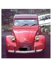 2 CV6 rouge de Rio 1974