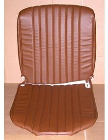 Garniture de siège gauche ou droit, dernier modèle, skaï marron, HY
