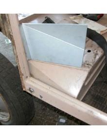 Tôle de réparation d'entrée de porte arrière droite
