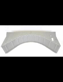 Fond de coffre 2cv partie arrière arrondie avec partie horizontale côté banquette