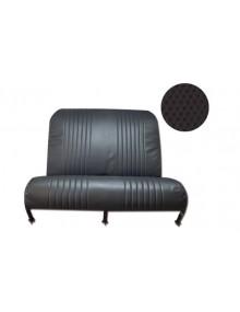 Garniture de banquette arrière 2cv Dyane* targa noir, 1 partie avec rabats
