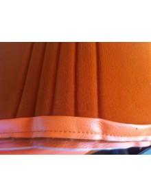 Ensemble de garnitures de sièges dossier symétrique + banquette arrière orange attention ne se monte pas sur 2cv  Spot*