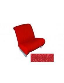 Garniture de siège avant gauche + droite diamanté rouge pour 2cv AZAM SUR COMMANDE