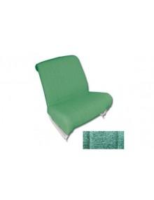 Garnitures de siège avant gauche + droite diamanté vert pour 2cv AZAM