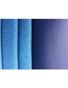 Garniture de banquette arrière Ami 6 Club en tissu diamanté bleu