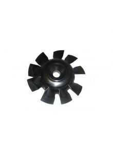 Hélice de ventilateur noire 2cv6 pour un parfait refroidissement du moteur