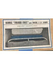 """Hamac """"Fourre-Tout """" pour 2CV"""