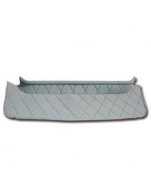 Hamac en tissu losange gris 2cv Charleston Dolly gris clair