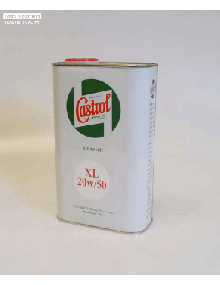 Huile Moteur Castrol 20W50 bidon de 1 litre