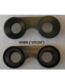 Paire  de joint à lunettes 2cv premier modèle en Viton