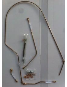 Kit de tuyaux de débrayage pour 2cv Sahara