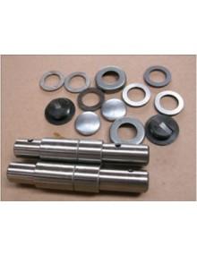 Kit réparation de deux axes pivot  les 2 côtés en acier plus résistant que le cuivre monté à l'origine, livraison offerte en france continentale