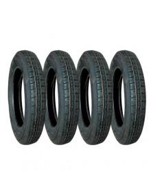 Lot de 4 pneus 125r15 pour 2cv marque Wearwell même profil que l'origine livraison offerte en France continentale