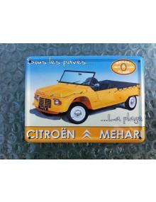 Mini carte métal Méhari